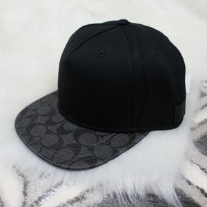 8fc3d4e60ef Coach Accessories - NWT Men s Coach Flat Brim Hat - One Size